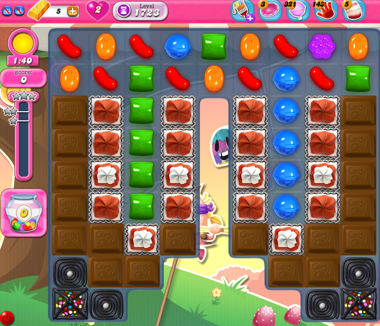 Candy Crush Saga 1723
