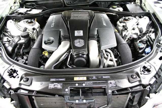 mercedes v8 biturbo engine