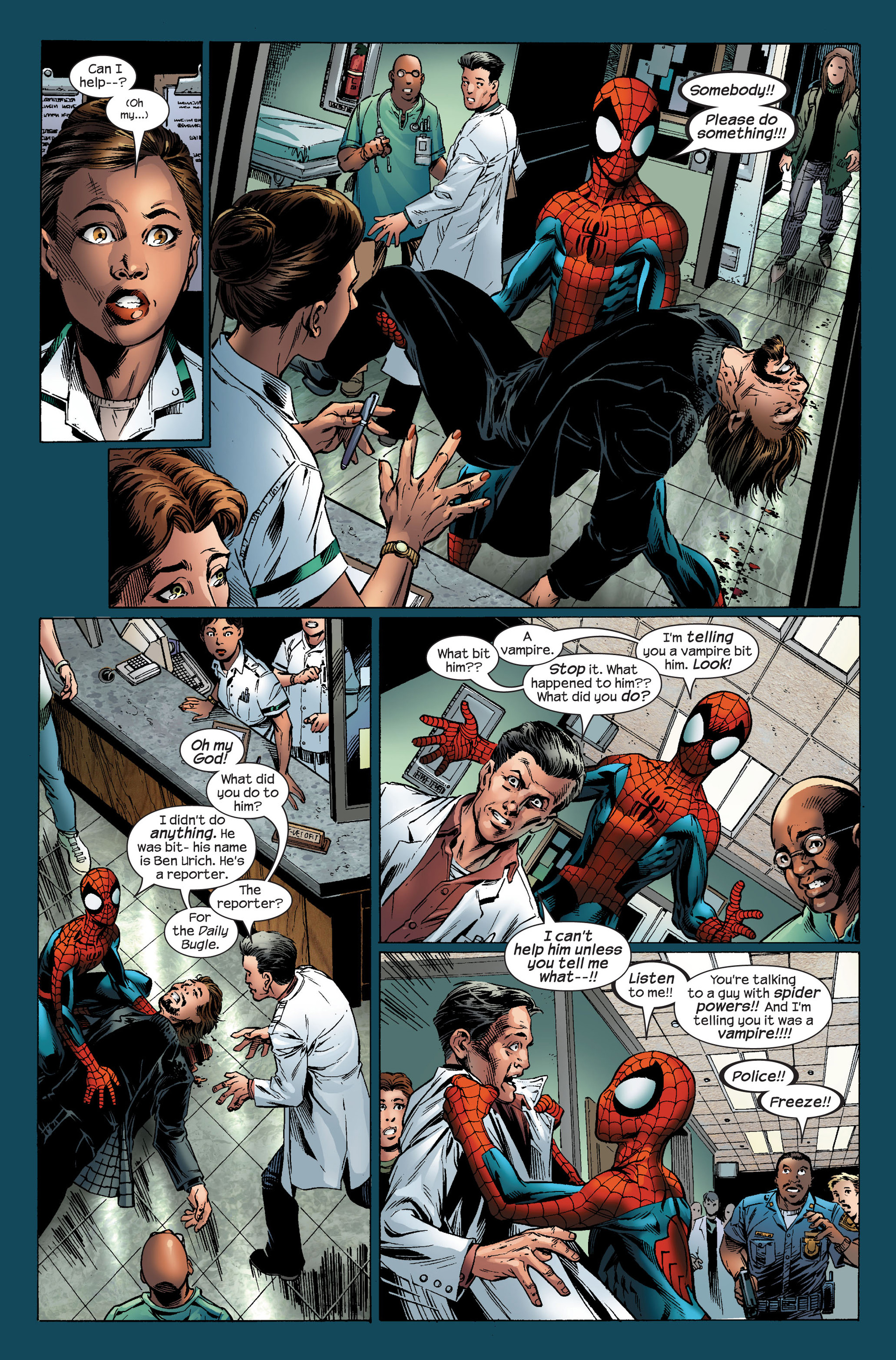 Read online Ultimate Spider-Man (2000) comic -  Issue #96 - 8