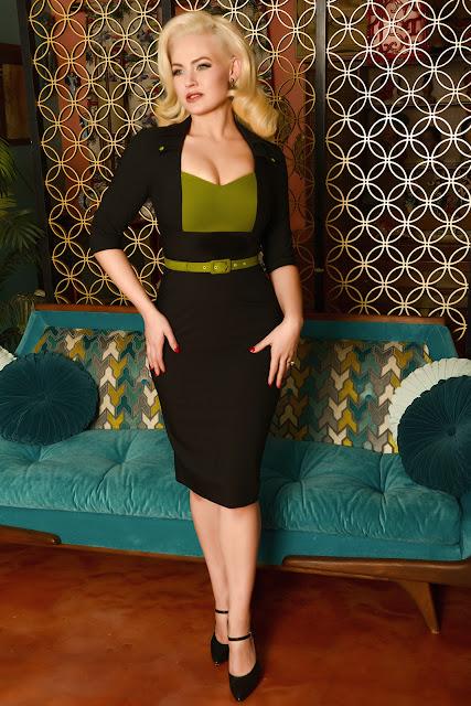 Gia Genevieve, Glamour Bunny, Jayne Mansfield, Online pinup fashion store, pinup fashion, pinup fashion designer,
