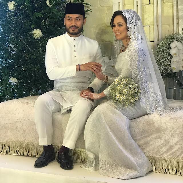 Gambar nikah dan perkahwinan Nelydia Senrose X Mohd Hafez Halimi