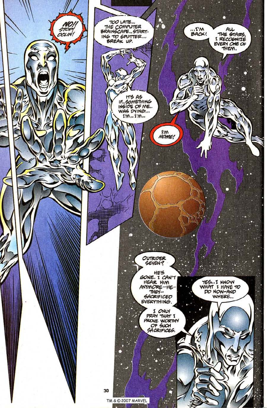 Read online Silver Surfer (1987) comic -  Issue #111 - 32