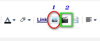 cara upload gambar di artikel blog