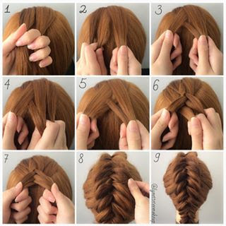 Dutch Fishtail Pancake Braids Tutorial | Lynette Tee ...