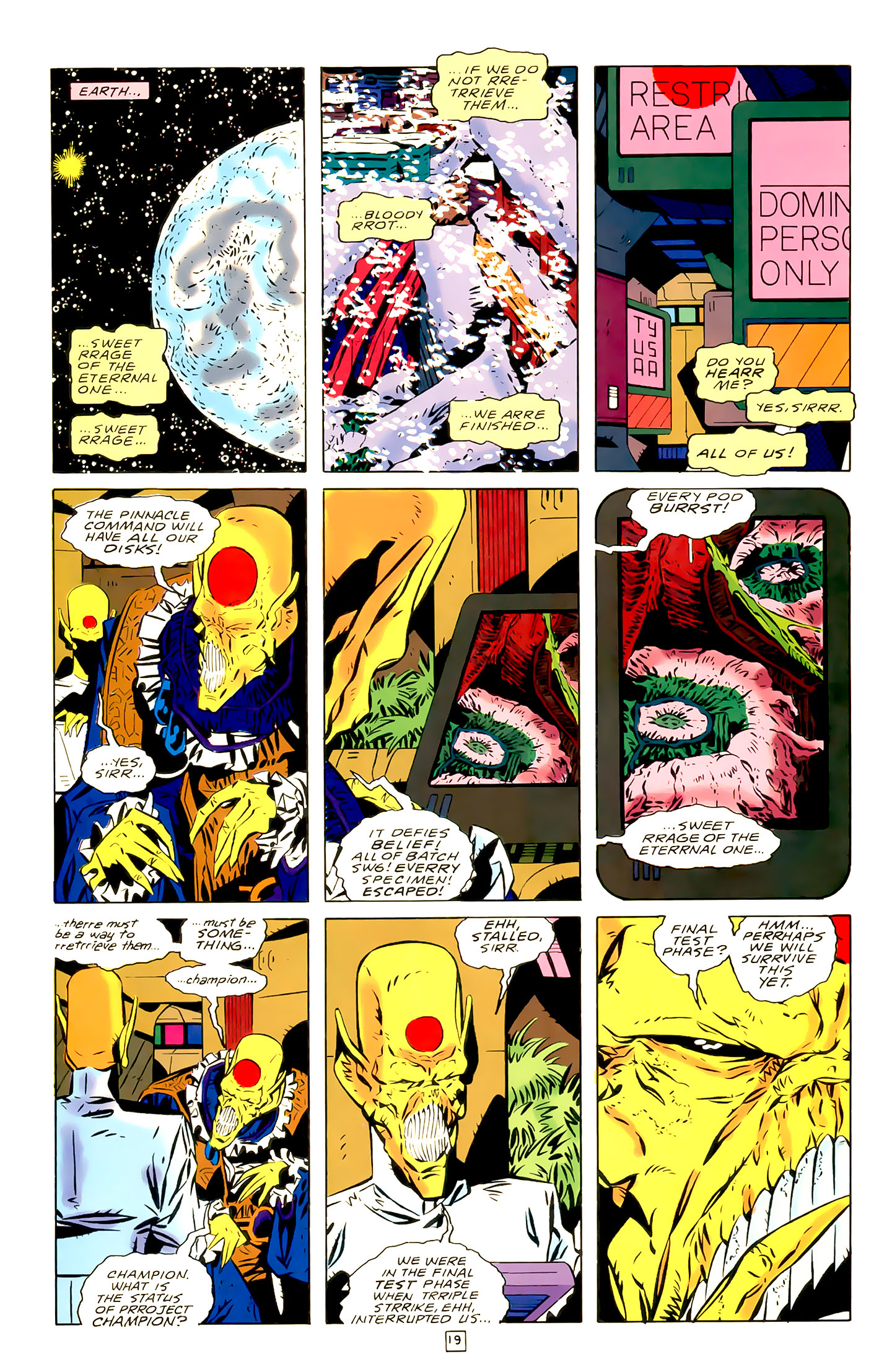 Legion of Super-Heroes (1989) 21 Page 19