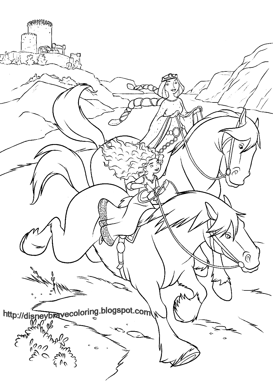 LETS COLORING BOOK: COLOURING BOOK SHEETDISNEY BRAVE COLOURING PAGES ...