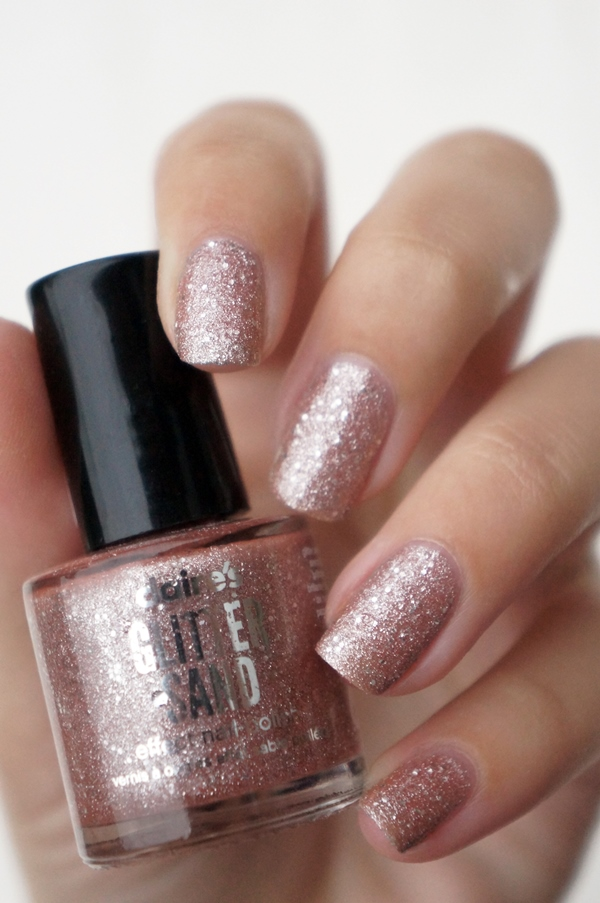 Claire S Glitter Sand Effect Nail Polish Beautyill