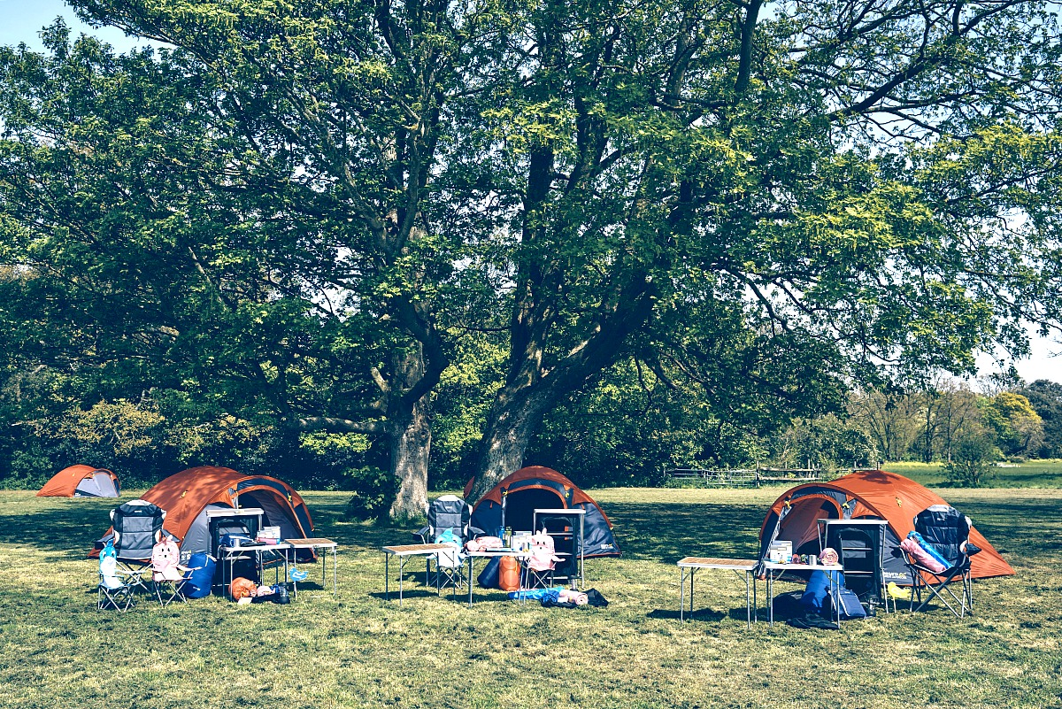 Camp ready, kendall calling festival, campsite style, competition