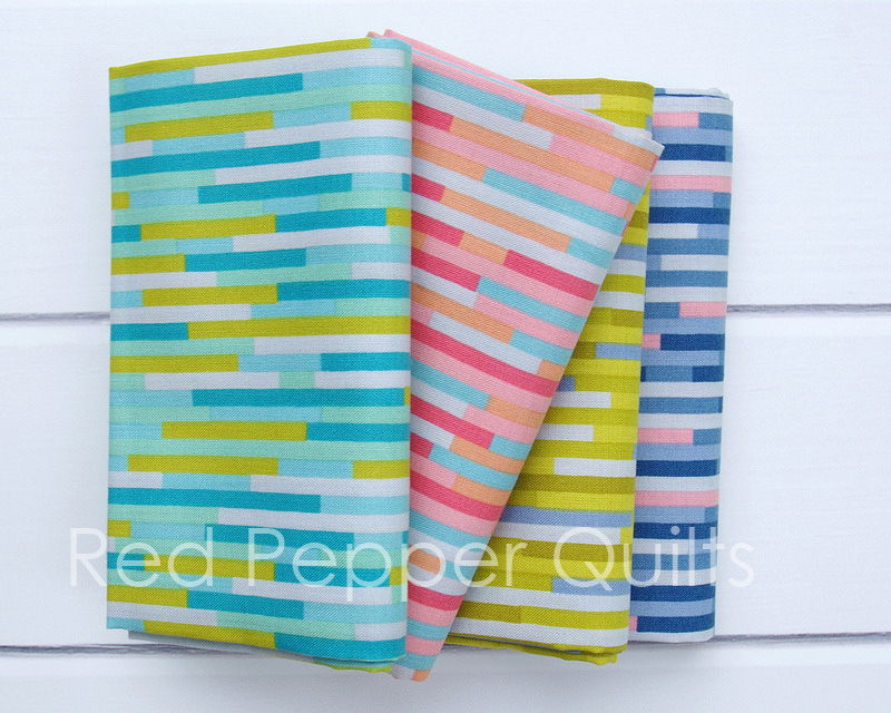 Eureka by Emma Jean Jansen for Ella Blue Fabrics | © Red Pepper Quilts 2017
