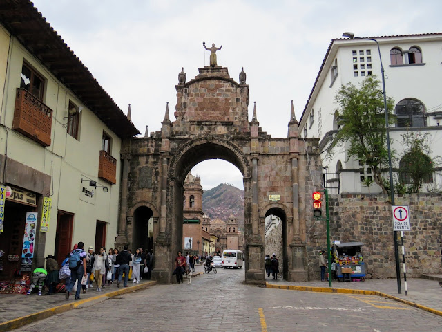 What to do in Cusco for 3 days: Colonial gate in Cusco Peru