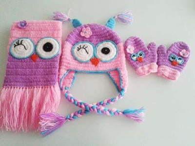 bufandas y gorros tejidos en crochet