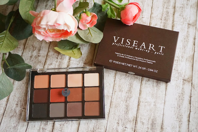 Viseart - Neutral Matte Eyeshadow Palette