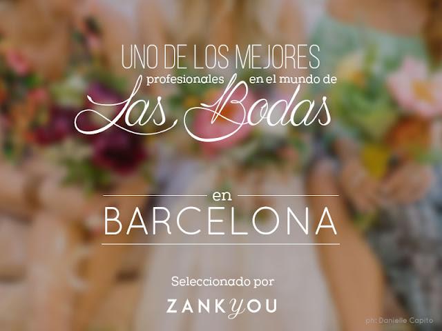 Zankyou Weddings recomienda a Exclusive Weddings como una de las mejores wedding planners de Barcelona