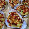 Resep Roti Pizza Praktis & Irit. Saya Bikin ½ Resep dari Resep di Bawah ini. Jadi Buah 10 bund.