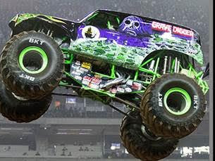 Monster Jam is Coming to Charlotte, NC!  #giveaway
