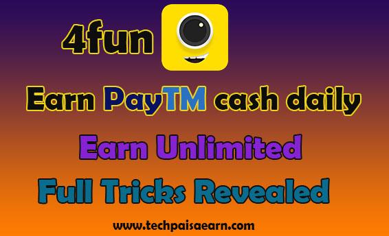 4fun app earn paytm cash daily