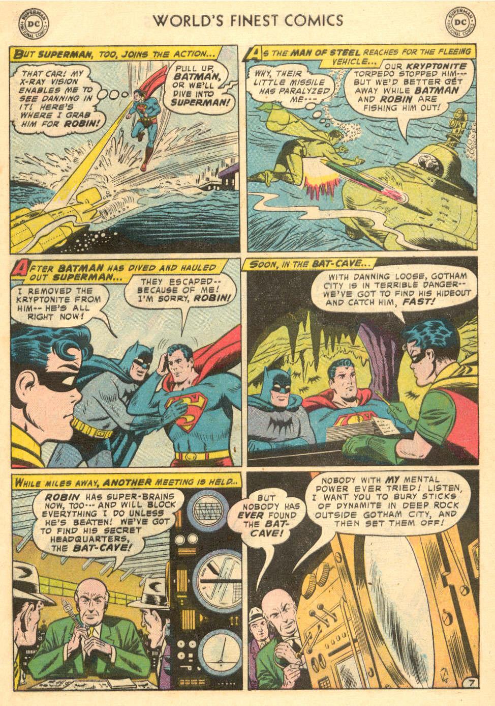 Read online World's Finest Comics comic -  Issue #93 - 9