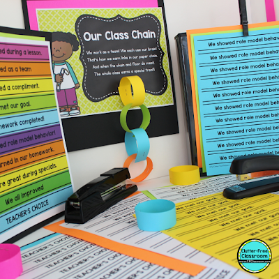 Do you need ideas for teaching elementary students about lining up and walking in line in the hall so you are ready for back to school? Try out these classroom management procedures, routines, strategies, and techniques from the Clutter Free Classroom and your students will walk in the hallway without distracting other classes! #classroommanagement #cfclassroom #clutterfreeclassroom