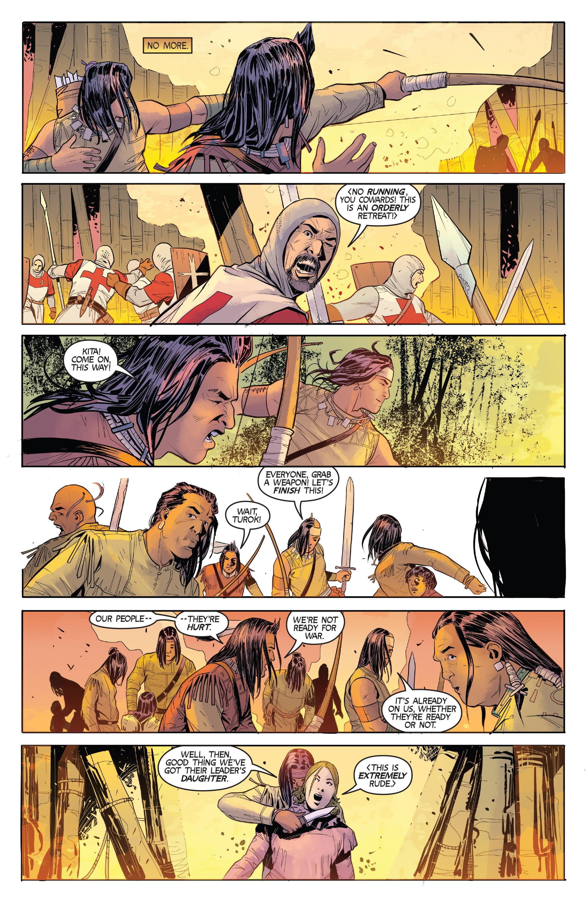 Read online Turok: Dinosaur Hunter (2014) comic -  Issue # _TPB 1 - 47