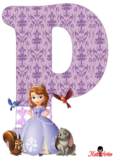 Alfabeto de Princesa Sofía. - Oh my Alfabetos!