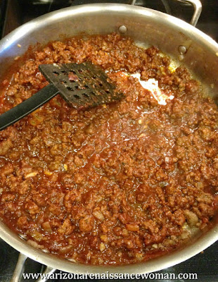 Ground Beef in Tangelo Adobo Sauce for Tacos