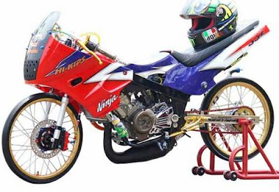 motor drag ninja rr