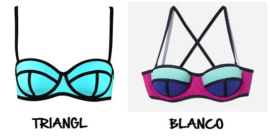 Clon bikini Triangl Blanco