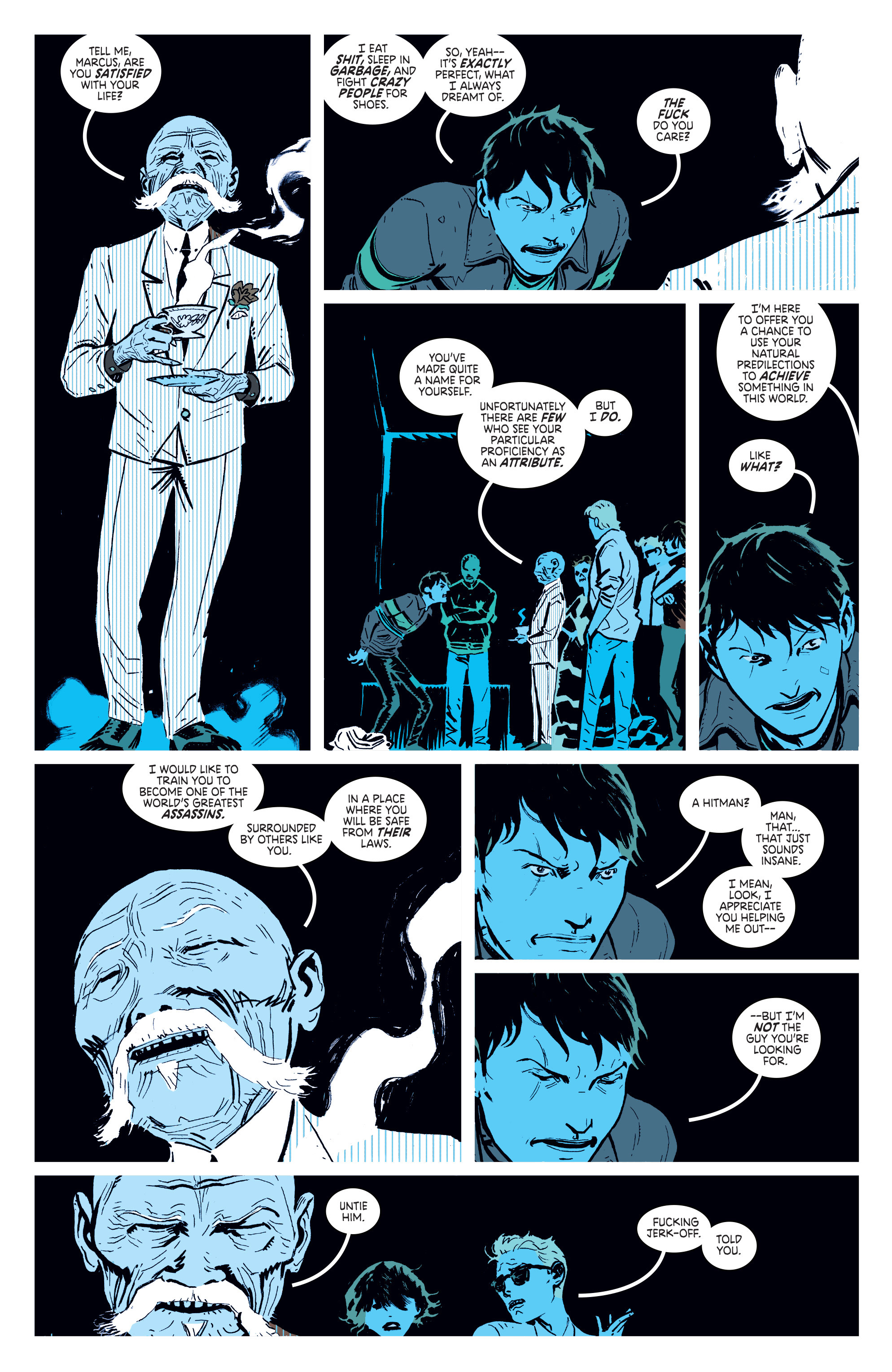 Read online Deadly Class comic -  Issue #1 - 25