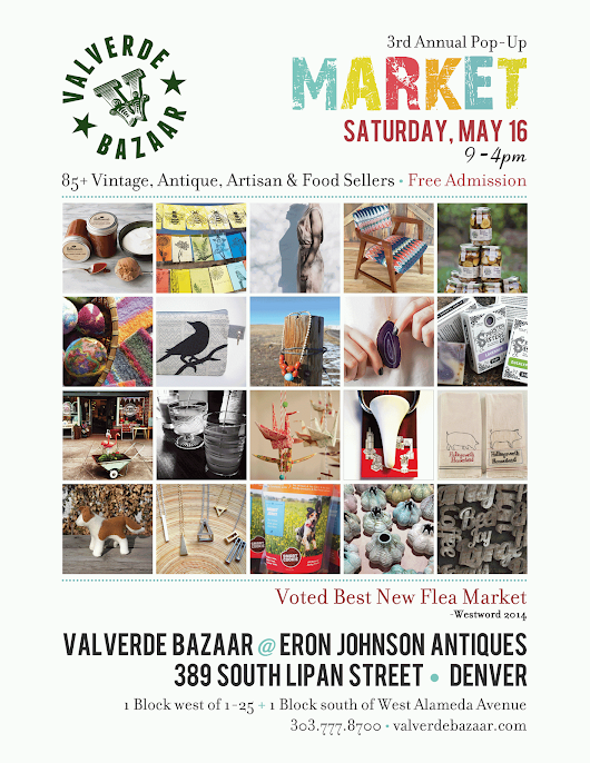 Valverde Bazaar returns for its 3rd Annual Spring Market May 16