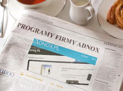 Programy firmy Adnox w jednym miejscu - opinie, opis, uwagi