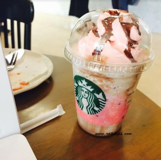 Review Starbucks Birthday Cream Frappuccino, Soft and Sweety Banget!