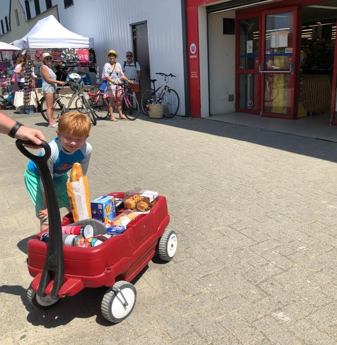 Les Ecureuils Campsite, Vendee - A Eurocamp Site near Puy du Fou (Full Review) - supermarket
