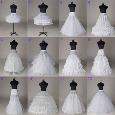 Saiotes para vestidos de noiva