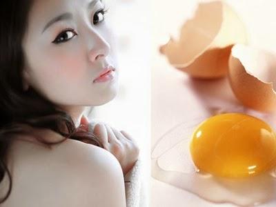 Trứng gà điều trị mụn cám siêu tốc v