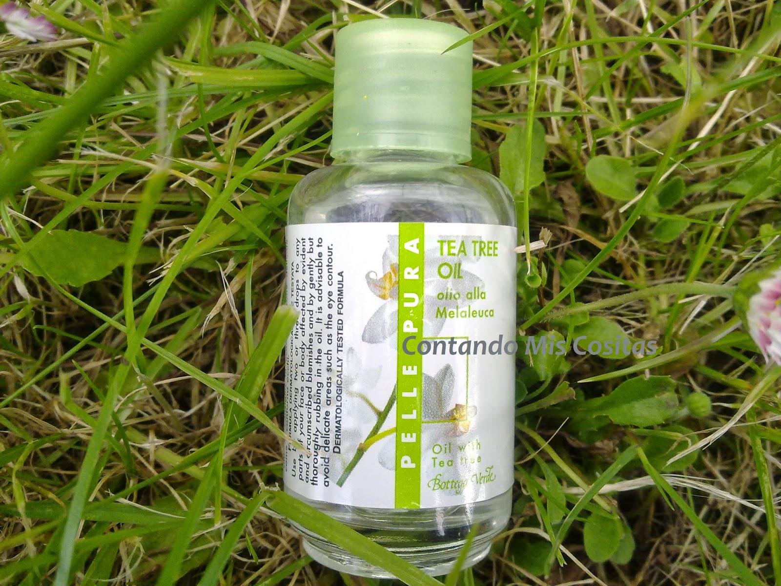 aceite arbol te bottega verde favorito espinillas granos