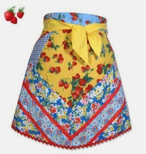 Berry Good Cocktail Apron