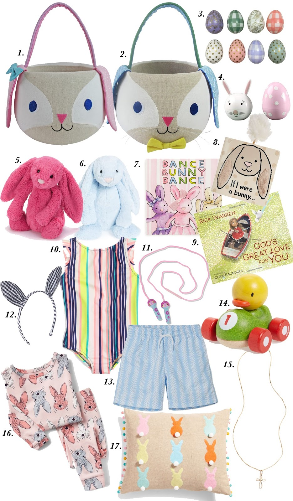 Easter Basket Ideas for Kids - Something Delightful Blog