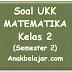 Soal UKK Matematika Kelas 2 SD/MI Semester 2