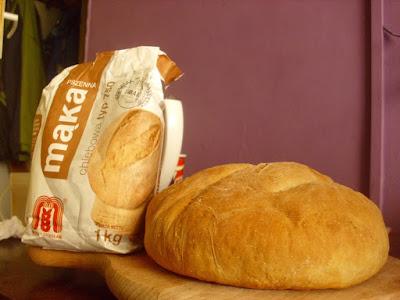 Chleb z musem kokosowym