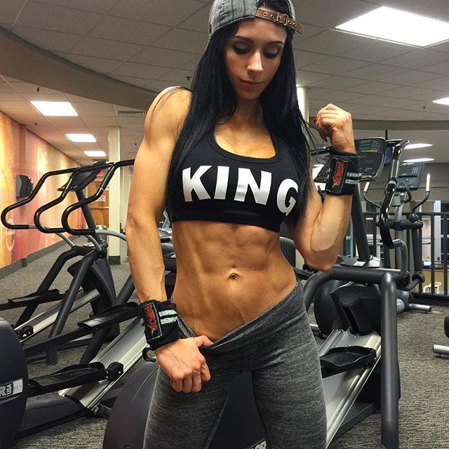 Fitness Models Amber Callahan