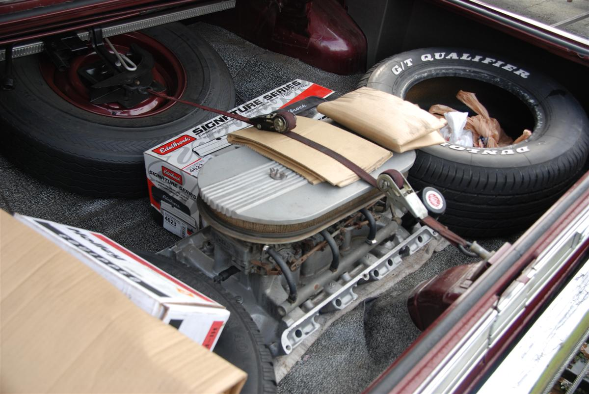 Ol Trunks That S What Cool Cars Had Room For A Pair Of Slicks Tool Box Jack And Extra Intake Carbs