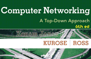 Computer networking PDF 6th Edition by Kurose and Ross