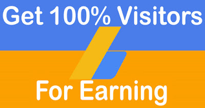 Get 100% Visitors for Earning