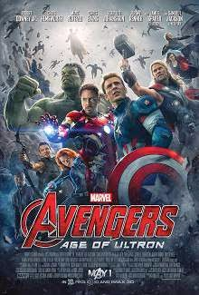 Avengers: Age of Ultron (2015) English Movie Poster