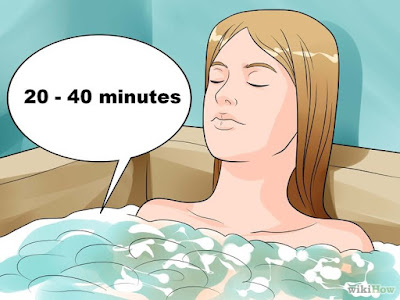 tomar baños calientes