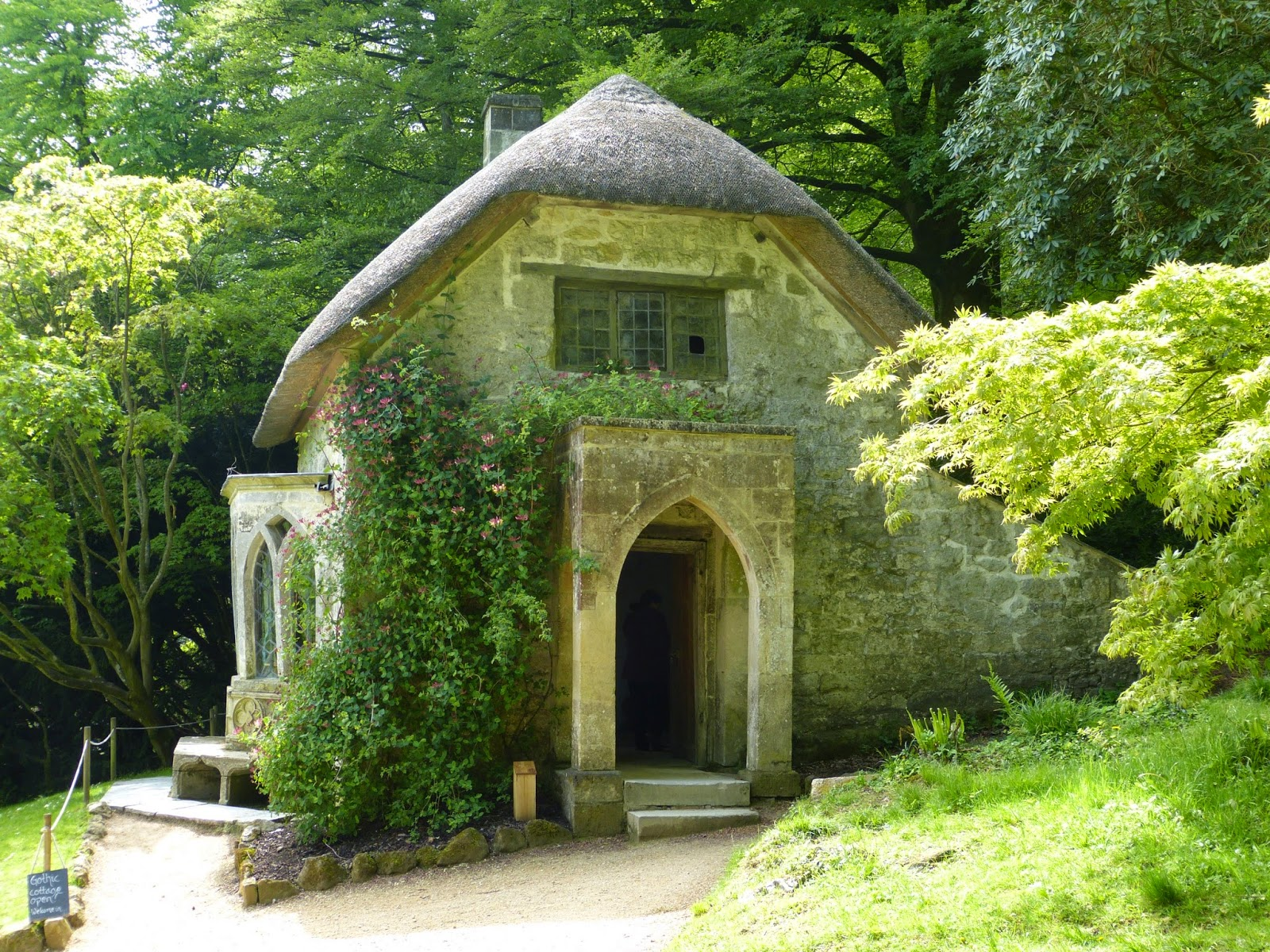 Gothic cottage, Stourhead