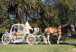 Gorgeous Cinderella Wedding Carriages