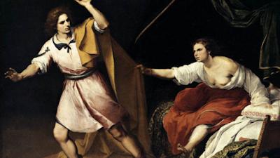 José e a esposa de Potifar - Genesis 39