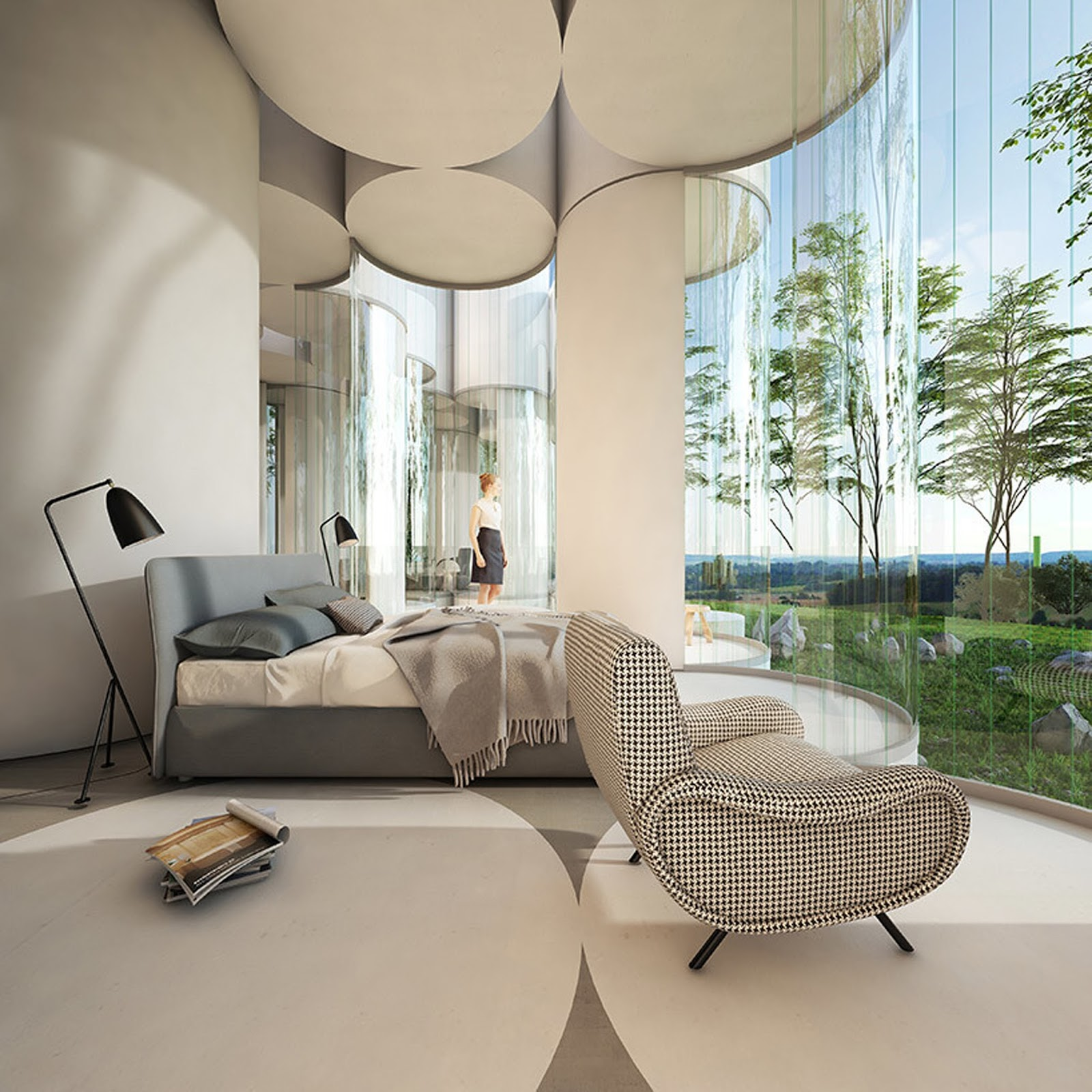 Home Designer Interiors Discover The Spectacular Cylinder House