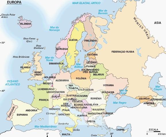 mapa europa em portugues curiousguys2: MAPA ATUAL DA EUROPA  PORTUGUÊS, POLÍTICO mapa europa em portugues